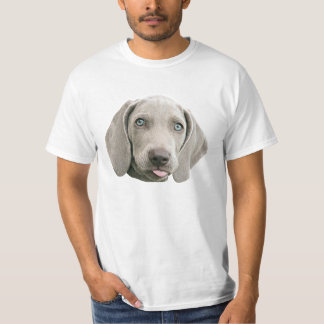 Silly Weimaraner Photo T-Shirt