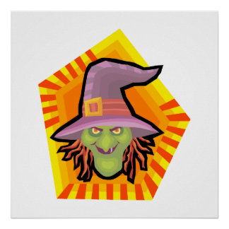 silly witch posters
