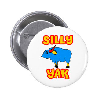 Silly Yak 6 Cm Round Badge