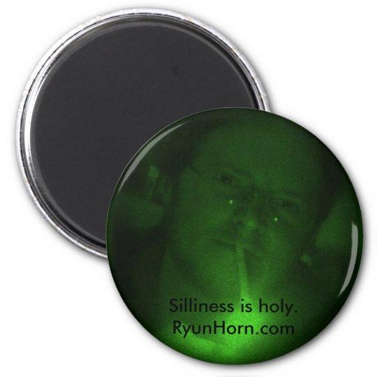 SillyGreenPhotoMagnet Magnet