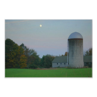 Silo Moon Poster