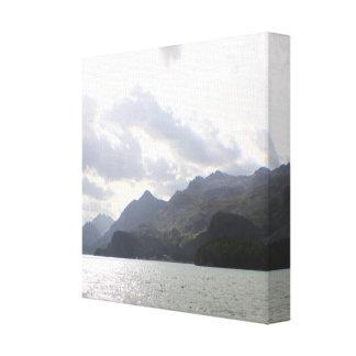 Silsersee Switzerland Canvas Print