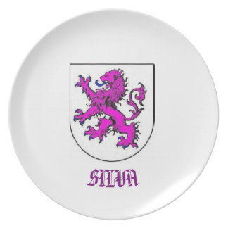 Silva Family Coat of Arms CustomPlate Plate