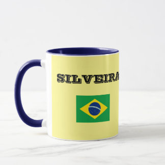 Silveira Surname Mug