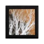 Silver Alder Tree Art Keepsake Box