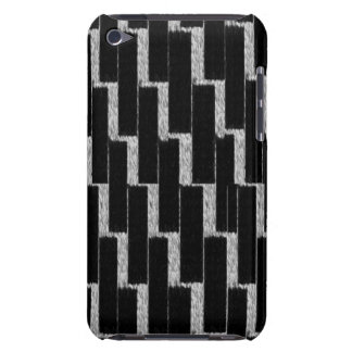 Silver and Black Illusion Case-Mate iPod Touch Case