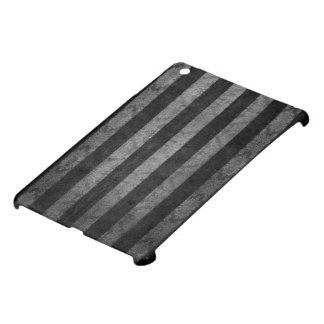 Silver and Black Stripe Design By John iPad Mini Cover