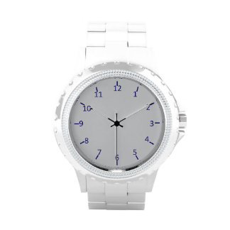 Silver and Blue Outlaw Watches