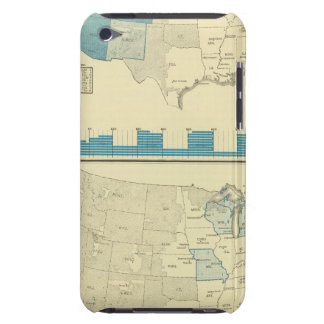 Silver and copper mining regions barely there iPod cases