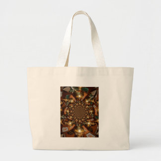 Silver and Gold Canvas Bags