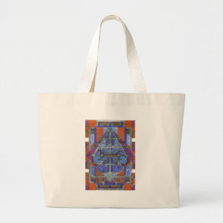 silver and gold tote bags