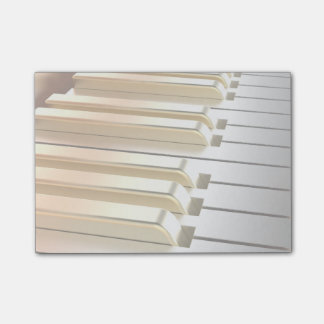 Silver and Gold Piano Post-it® Notes