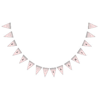Silver and Pink Baby Shower Banner