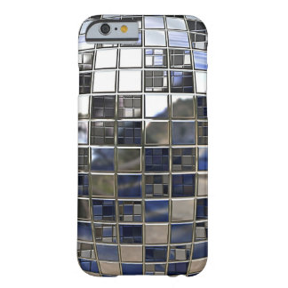 Silver and some Blue Disco Ball Mirrors Barely There iPhone 6 Case