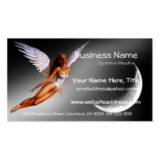 Silver Angel Fantasy/Sci Fi Business Cards