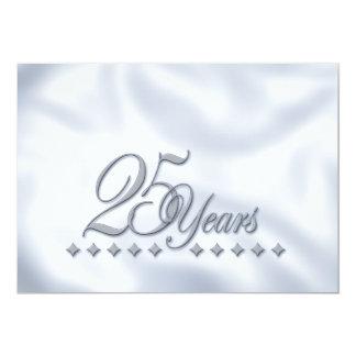 Silver Anniversary Invite