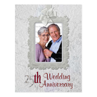 Silver Anniversary Postcard