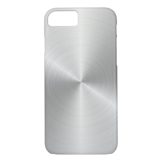 Silver Apple iPhone 7, Barely There Phone Case