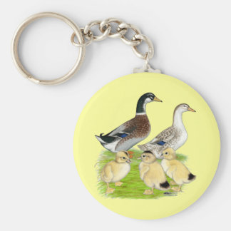 Silver Appleyard Family Key Chains