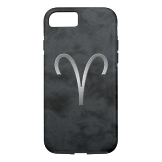 silver aries - smoke iPhone 7 case