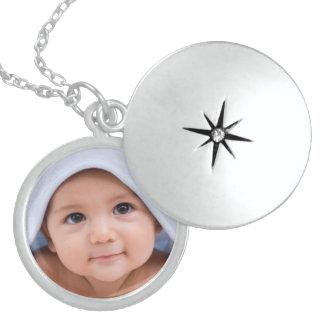 Silver Baby Locket