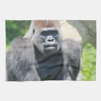 Silver Back Gorilla Tea Towel