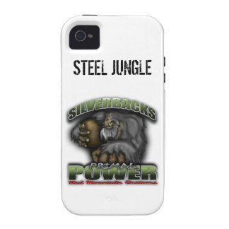 Silver Backs iPhone Case iPhone 4 Cover