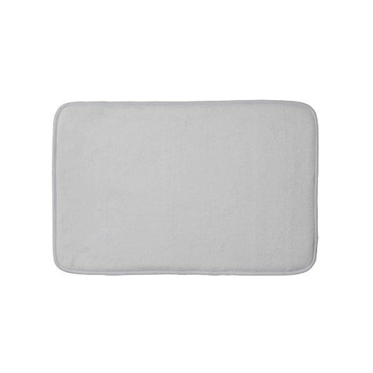 Silver Bath Mat