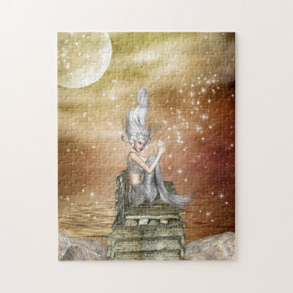 Silver Beauty Jigsaw Puzzle