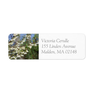 Silver Bell Address Labels