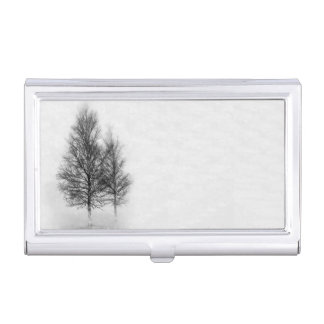 Silver Birches Business Card Holder