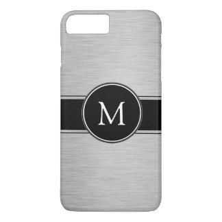 Silver, Black, White with Your Monogram iPhone 8 Plus/7 Plus Case