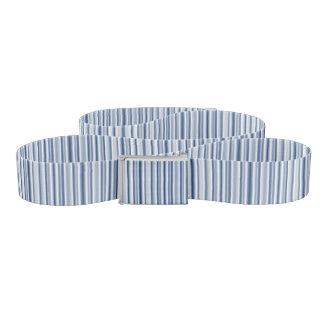 Silver Blues Belt