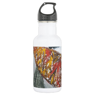 Silver Bridge Building ( abstract architecture) 532 Ml Water Bottle
