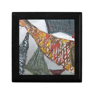 Silver Bridge Building ( abstract architecture) Gift Boxes