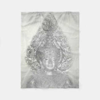 silver buddha flies blanket