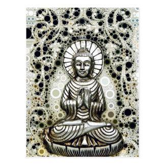 Silver Buddha Postcard