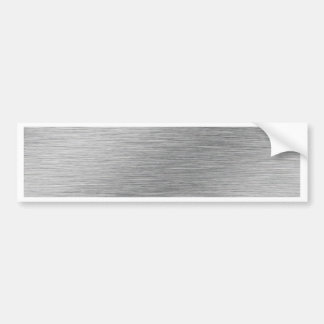 Silver Bumper Sticker
