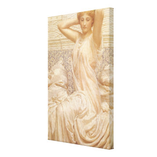 Silver by Albert Joseph Moore Gallery Wrapped Canvas
