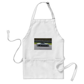 Silver Cabriolet Sportscar Standard Apron