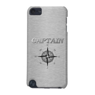Silver Captain with Compass Rose iPod Touch (5th Generation) Covers