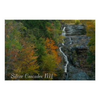 Silver Cascade NH  Print