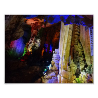 Silver Cave (Guilin, China) #2-1 Poster