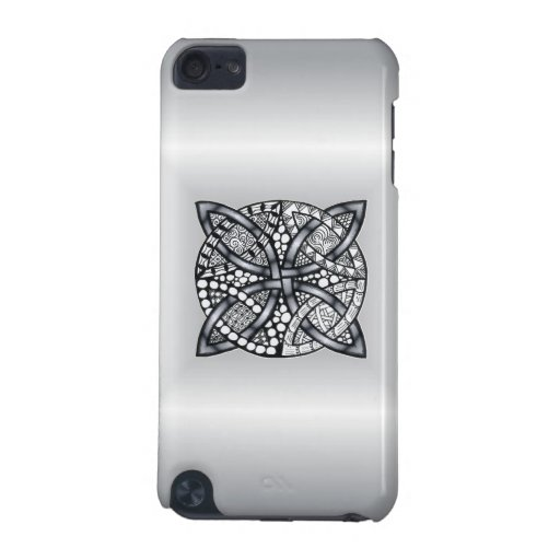 Silver Celtic Knot Customizable iPod Touch (5th Generation) Cover