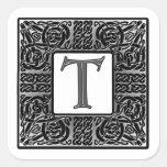"Silver Celtic ""T"" Monogram"