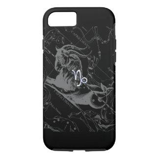 Silver Chrome like Capricorn Zodiac Sign Hevelius iPhone 7 Case