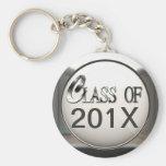 Silver Class Of... Add Year, Keychain