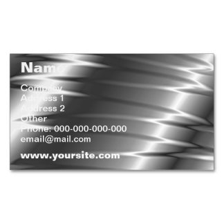 Silver Claws Magnetic Business Cards (Pack Of 25)