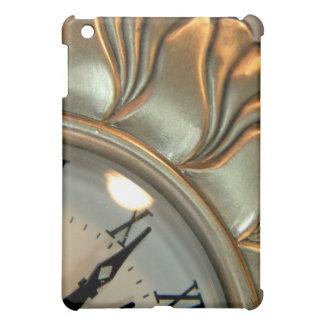 Silver Clock iPad Mini Cases