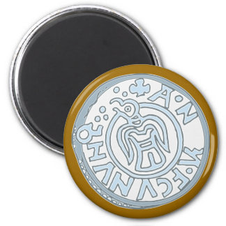 Silver coin Viking more silver coin Viking Magnet